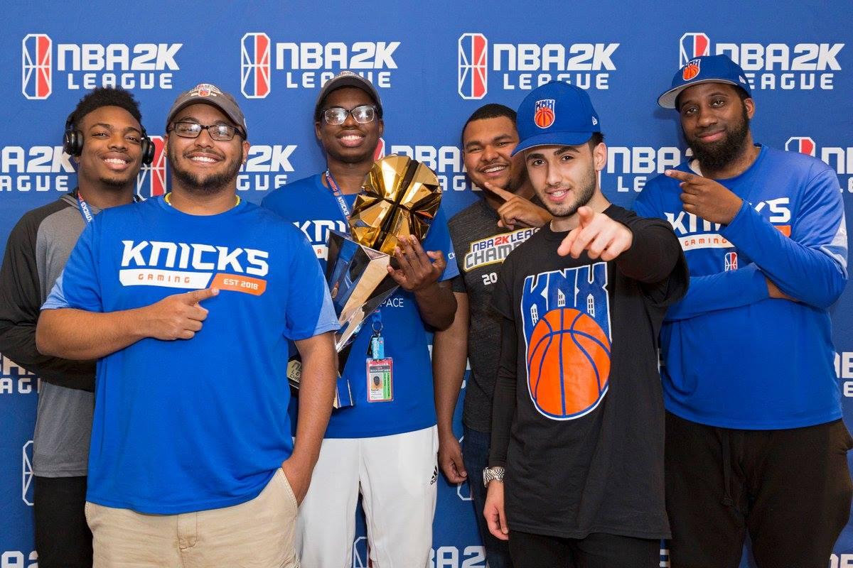 尼克電競(Knicks Gaming)是2K聯盟第一季冠軍。