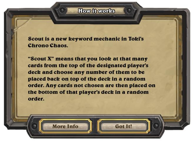 「偵查」是「Toki's Chrono Chaos!」中最重要的新關鍵字。