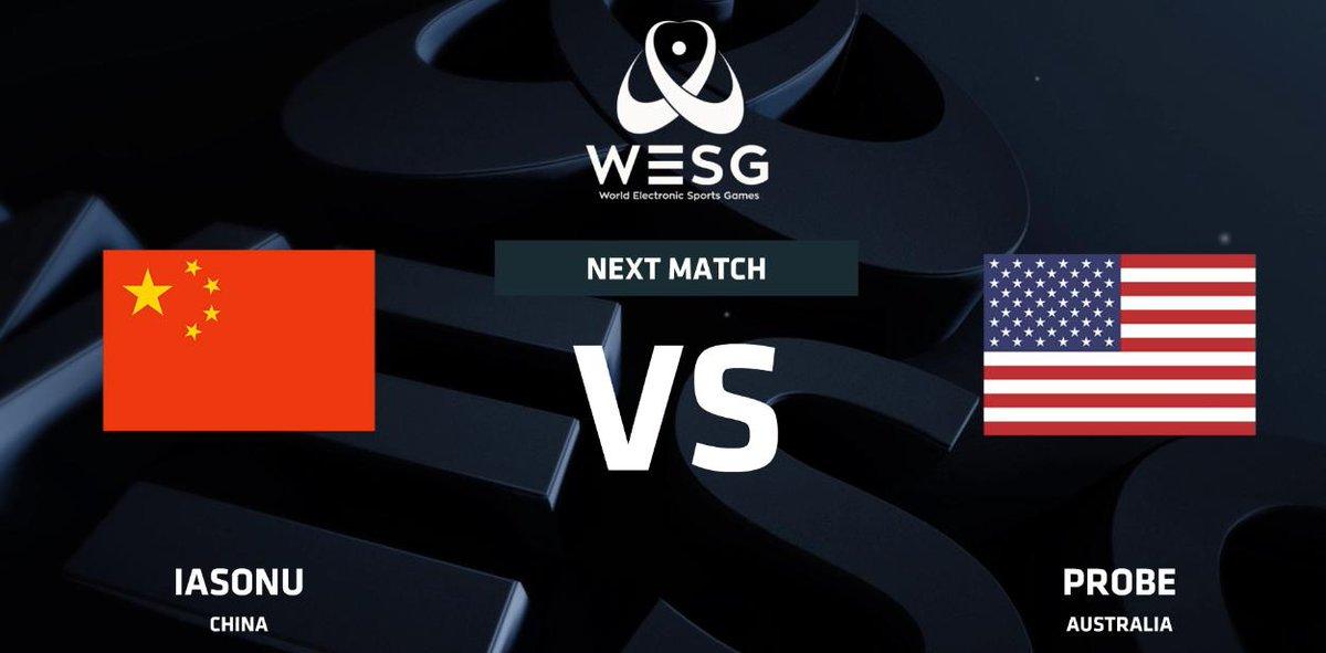 WESG賽事直播時搞錯了澳洲選手Probe的代表國旗。