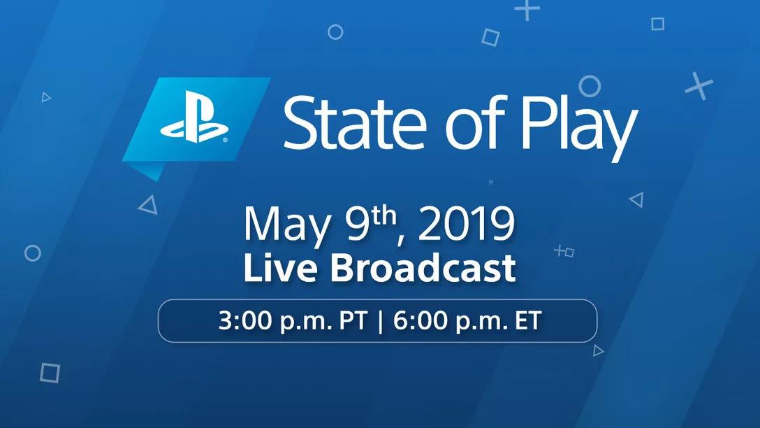 台灣時間周五(10)上午6點將進行PlayStation 專屬直播節目「State of Play」