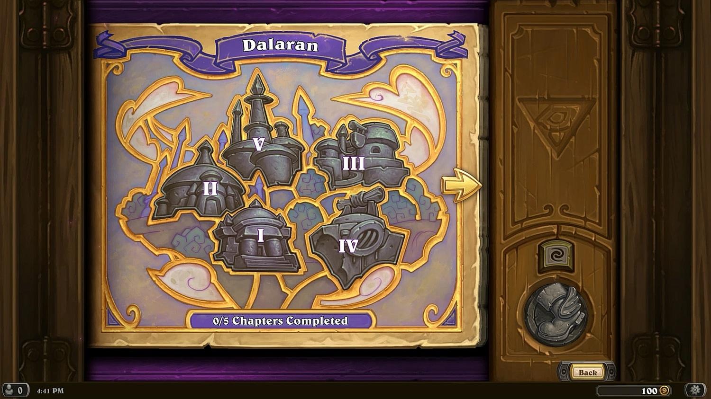 達拉然大劫案共有五個關卡,每個關卡都有各自的場地規則。