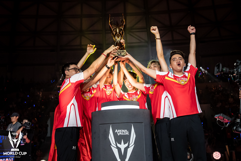 Team Flash曾奪下今年中的《傳說對決》AWC世界盃冠軍金盃。