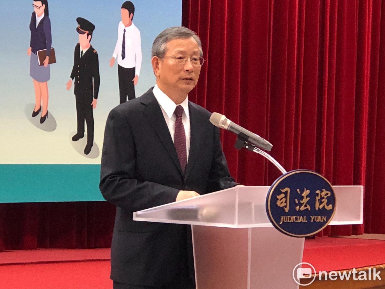司法院秘書長呂太郎。 圖:謝莉慧/攝(資料照片)