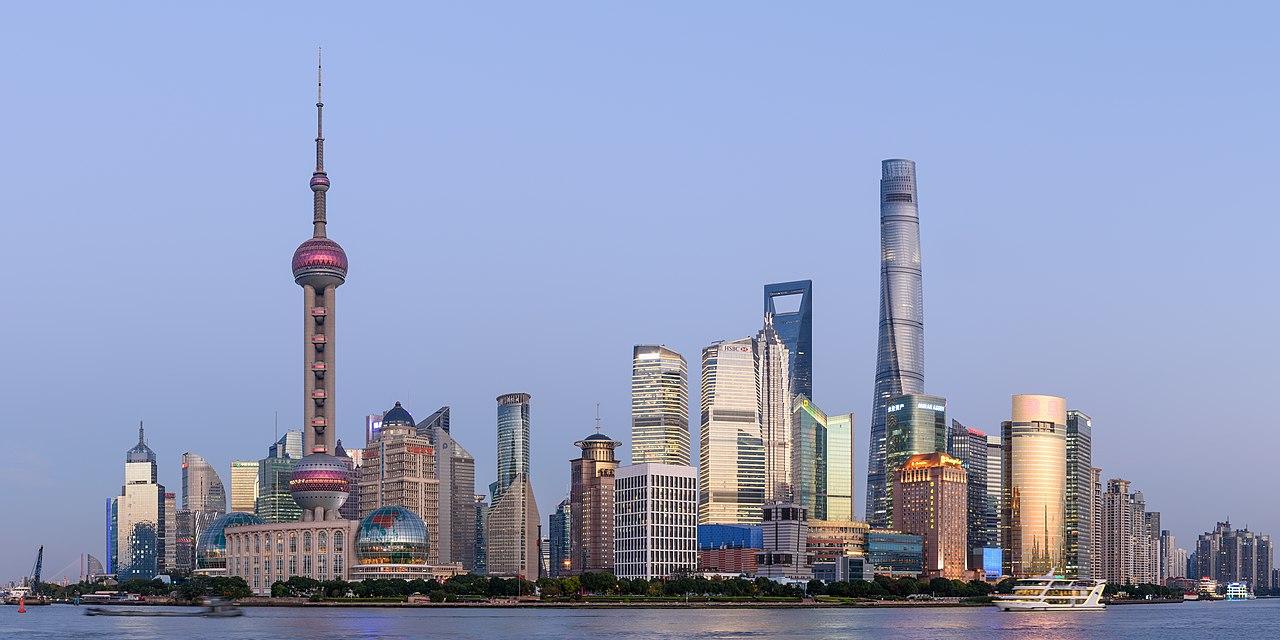 上海浦東為中國經濟重鎮。 圖:上海浦東 King of Hearts 提供 CC BY-SA 4