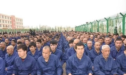 �S吾��人在新疆��被中����局扔�M「再教育�I」。�D:人��F�w/提供