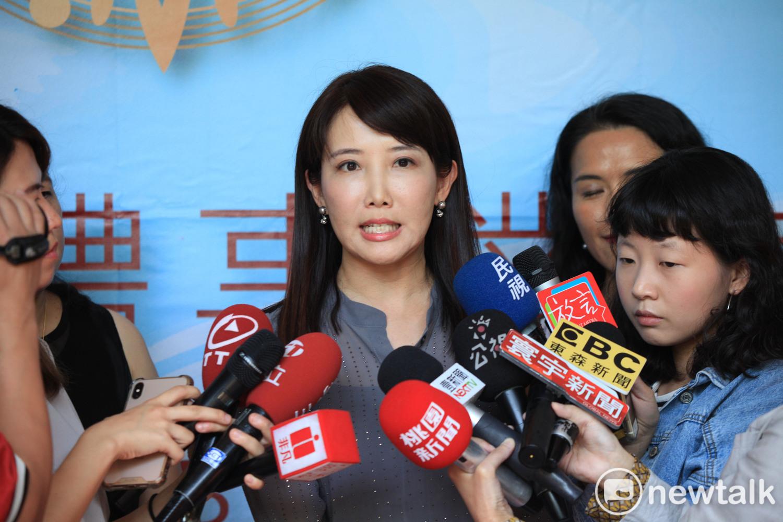 永齡基金會副執行長蔡沁瑜。