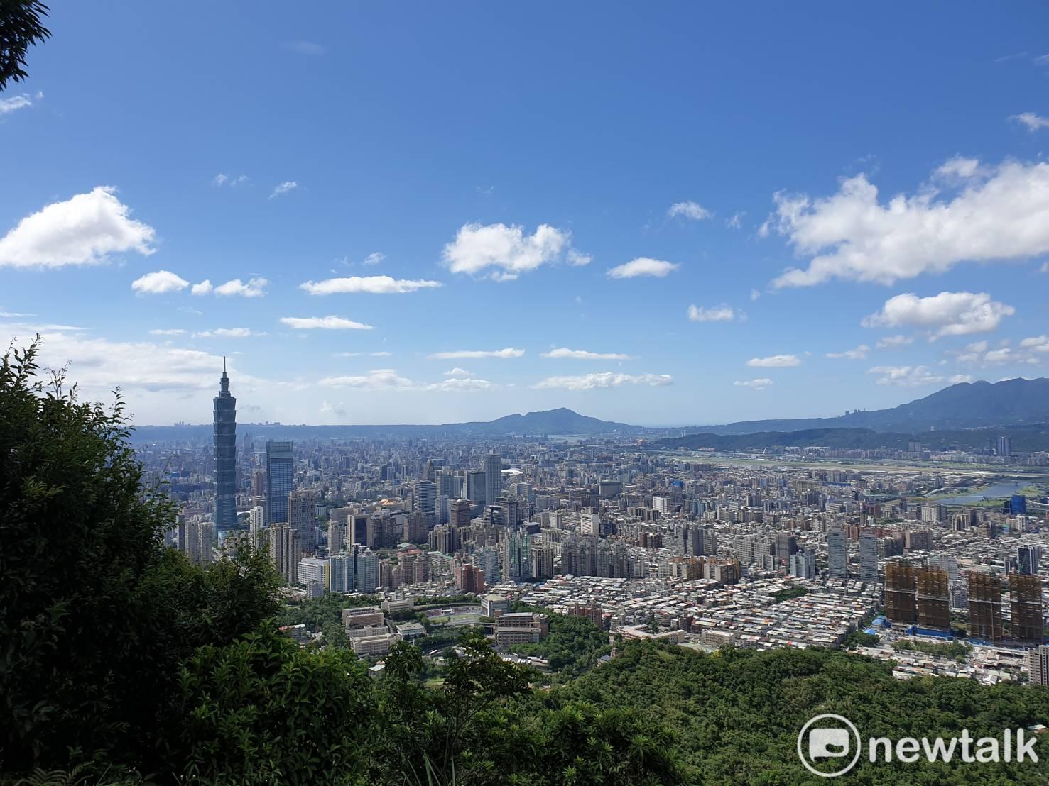 台北市的房價居高不下。圖 : 謝步智 / 攝