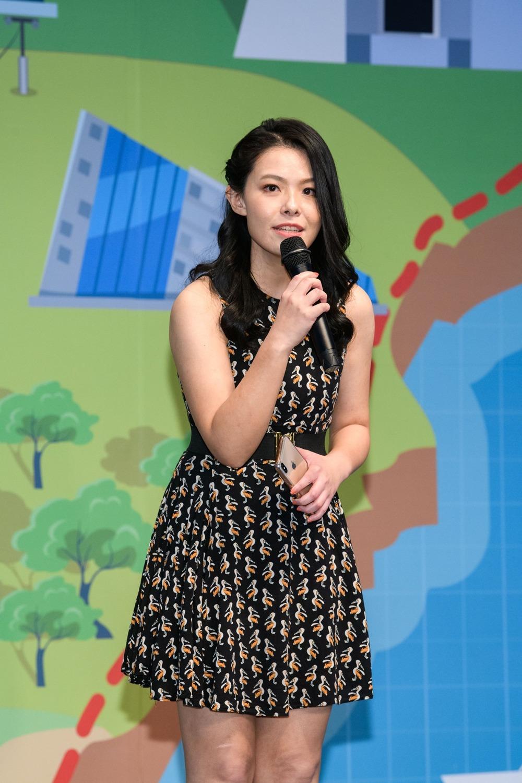 永齡基金會顧問高虹安可能入列台灣民眾黨不分區安全名單。圖:翻攝高虹安臉書