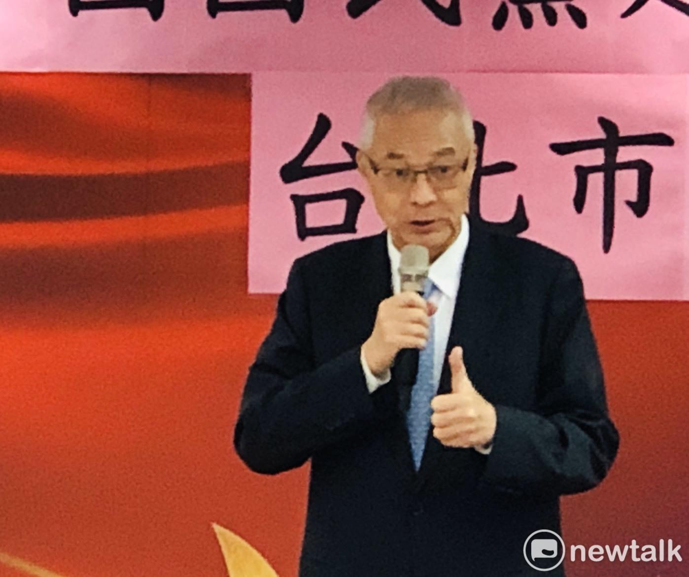 圖說:國民黨主席吳敦義排序出的不分區名單,引發外界不小爭議。圖:謝莉慧/攝(資料照)