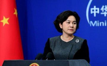 中國外交部發言人華春瑩。 圖:取自中國外交部(資料照片)