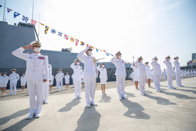 海軍敦睦艦隊在帛琉行回台後爆出群聚感染,國軍防疫出現破口,引起社會撻伐。 圖:翻攝自中華民國海軍臉書(資料照)