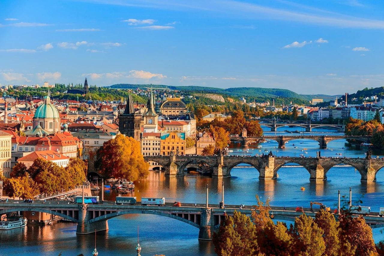 捷克首都布拉格市一景。 圖:取自Pixabay