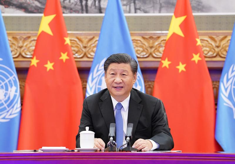 中國國家主席習近平。 圖:中國政府網(資料照片)
