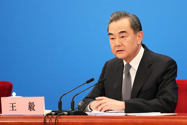 中國外交部長王毅。 圖:翻攝自人民網(資料照片)