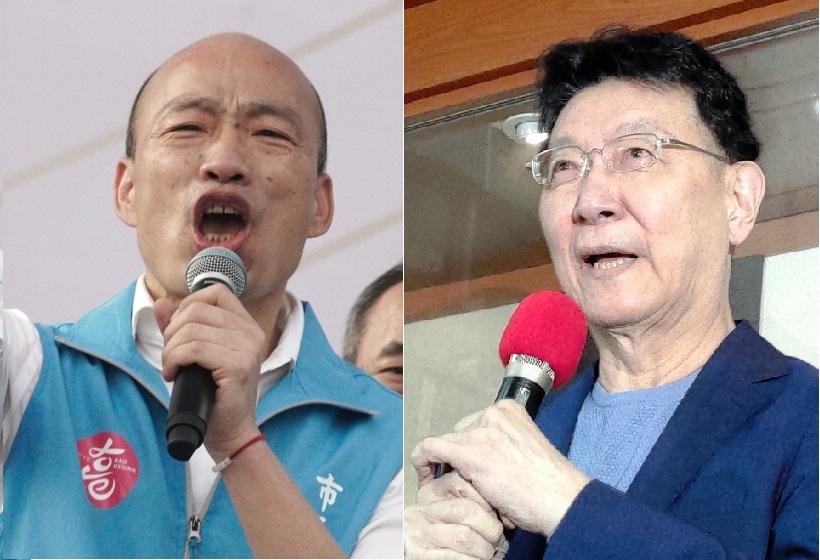前高雄市長韓國瑜、中廣董事長趙少康結盟態勢明顯。 圖:張良一、黃建豪/攝(資料照片)