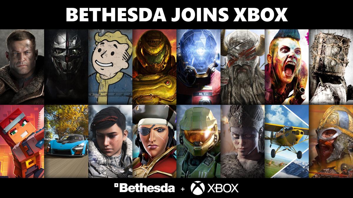 微軟 Xbox 正式完成 Bethesda 母公司 ZeniMax Media 收購程序 圖:微軟/提供