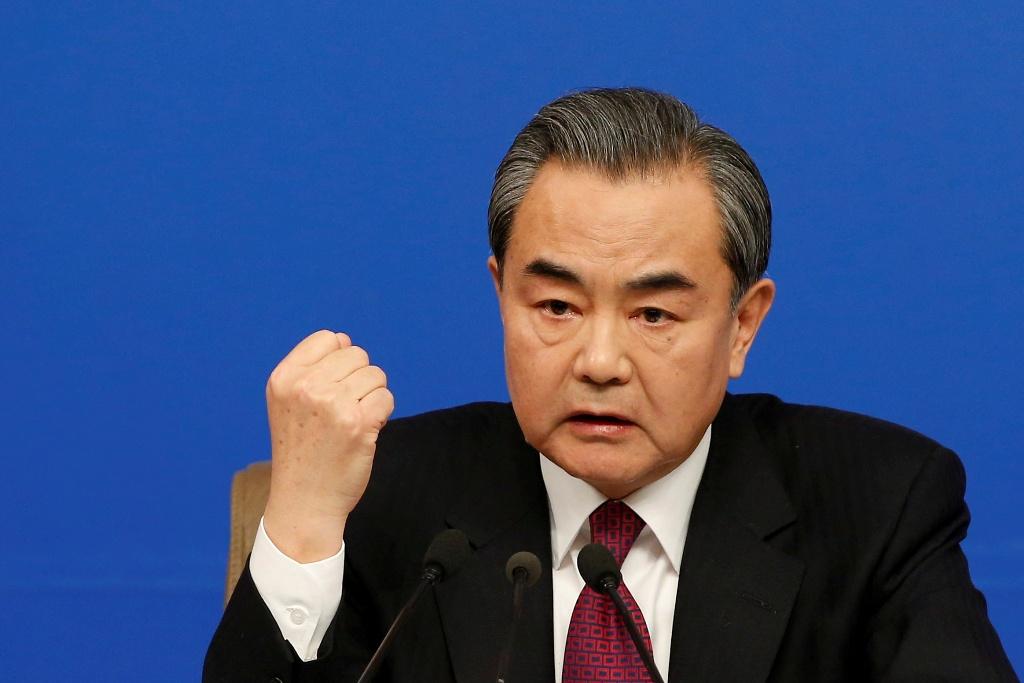 中國外交部長王毅。 圖:達志影像/路透社資料照片