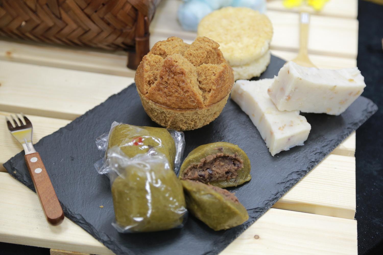 稻米可以做出各種食品,像是發粿、碗粿等料理,都深受台灣民眾喜愛。圖:農業委員會/提供