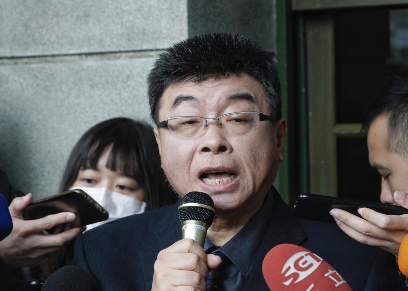 新黨不分區立委落選人邱毅。圖:張良一/攝(資料照片)
