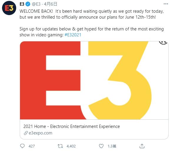 免費線上看!E3遊戲展確定採虛擬形式舉辦
