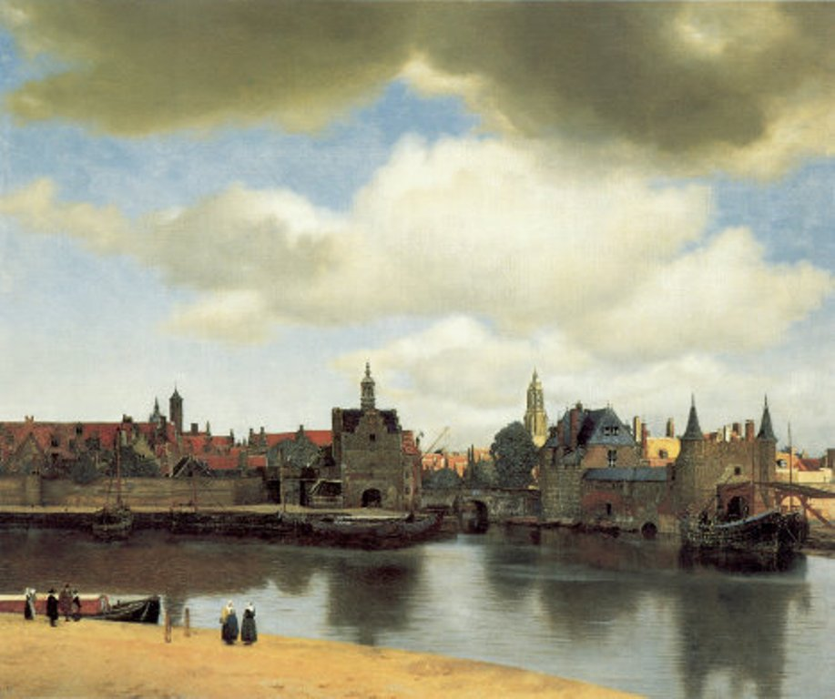 台夫特一景(Vermeer: A View of Delft 1660)