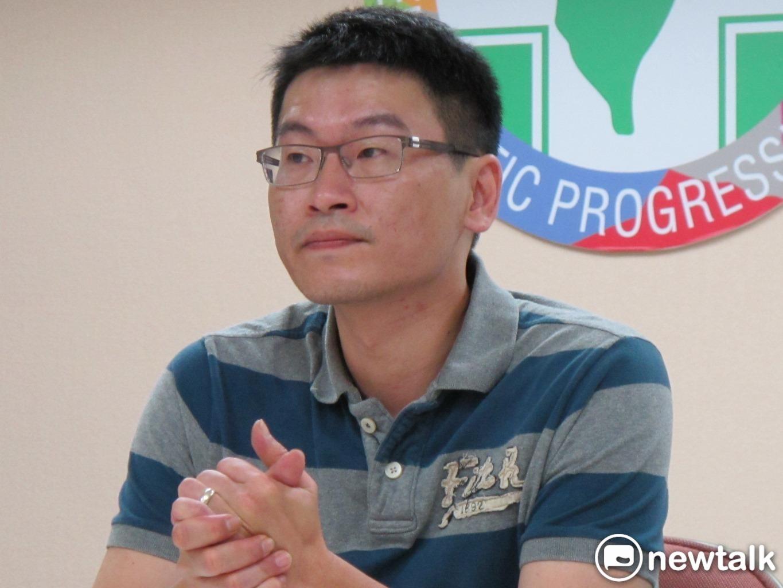 民進黨台北市議員梁文傑呼籲民眾不要去跨年。   圖:新頭殼資料照片