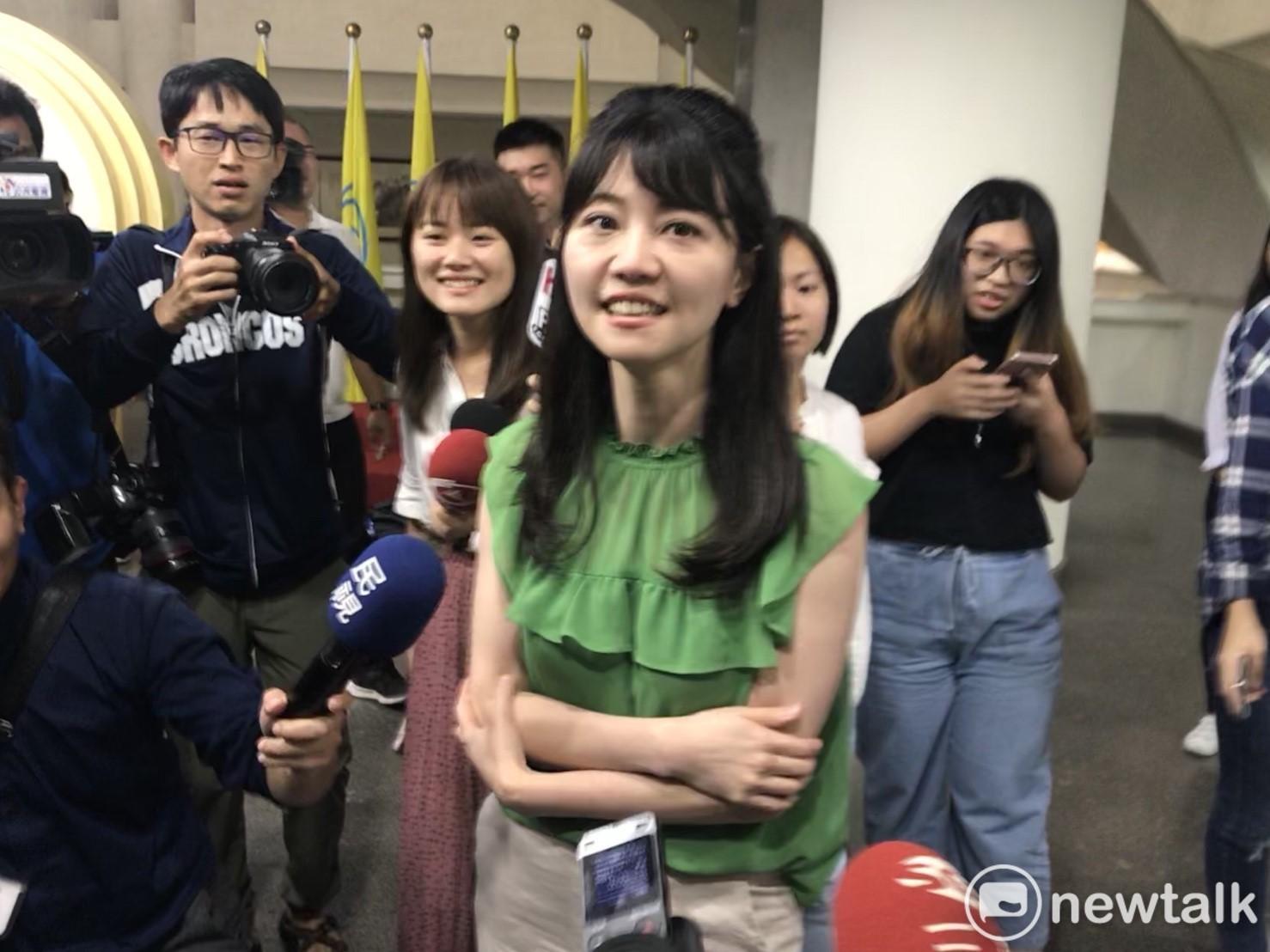 民進黨台北市議員高嘉瑜。