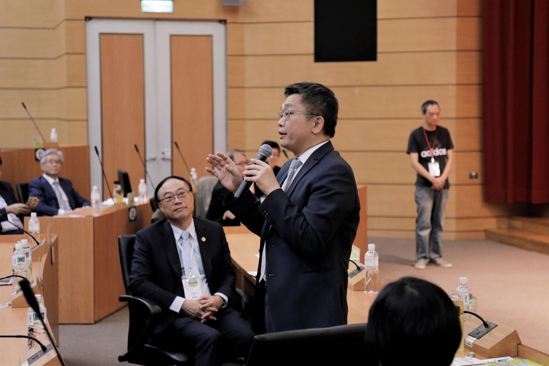 立法院副院長蔡其昌宣布論壇開始。