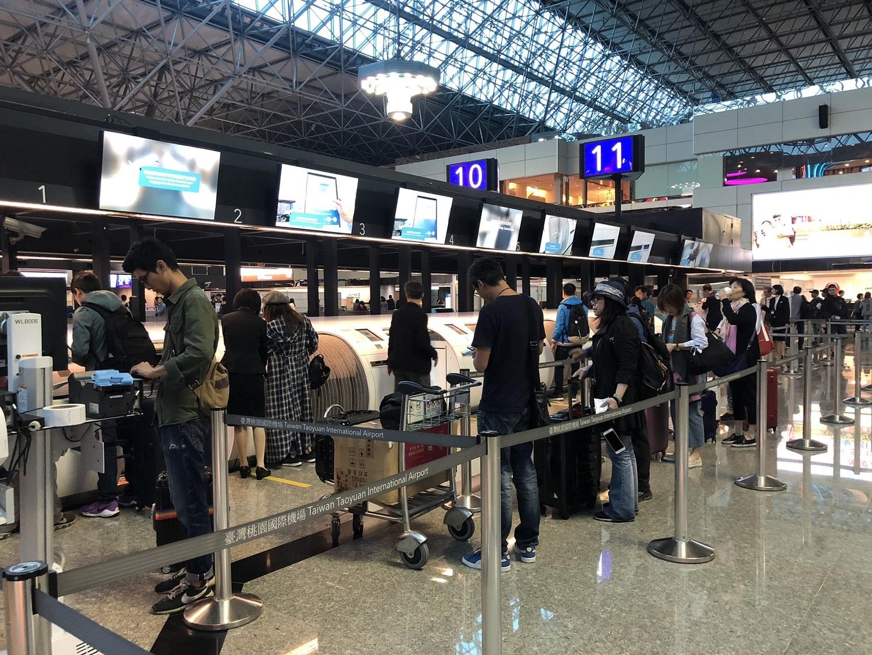昨日春節最後一天,桃機旅運量近16萬人次。圖:桃機/提供