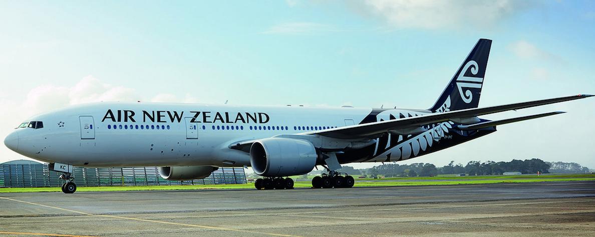 紐西蘭 News: 飛行文件未將「台灣」移除 紐西蘭航空被中國拒絕落地空中折返