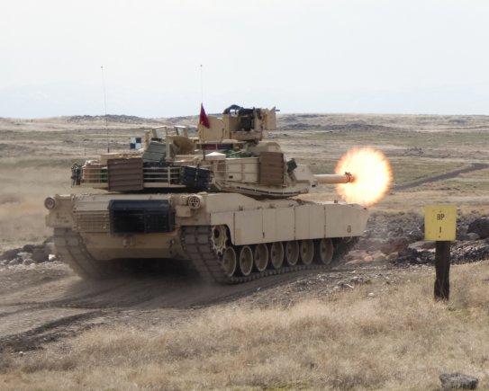 美國批准賣給台灣108輛M1A2T艾布蘭主力戰車的軍售案,被認為是堅定挺台。 圖:翻攝美國陸軍官網(資料照片)