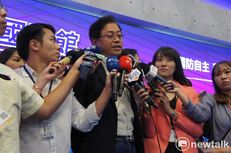 South Korean advisory group Yu Guozheng called Zhang Shanzheng. Photo: Huang Zhang / Photo