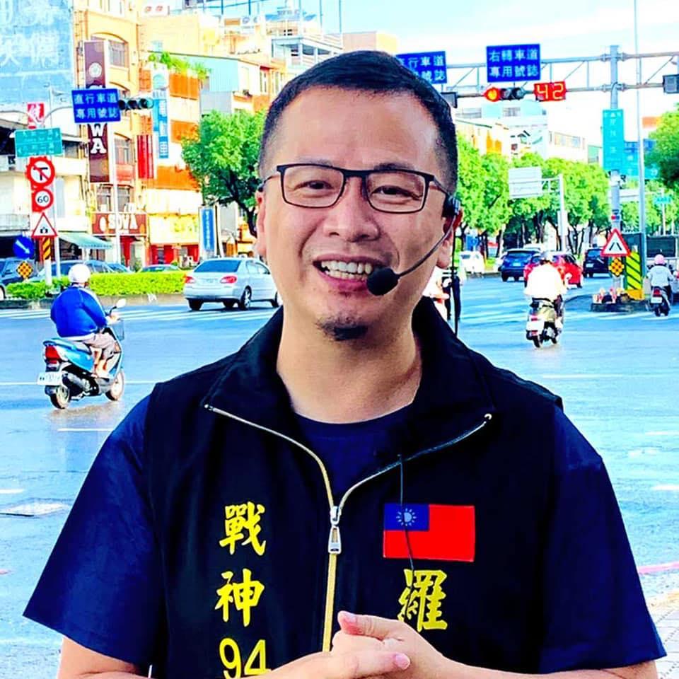 台北市議員羅智強   圖:翻攝自羅智強臉書(資料照)