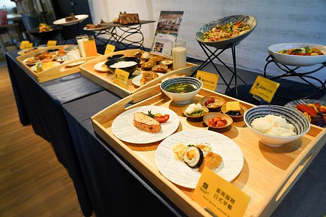淡水滬尾藝文休閒園區提供將早餐送至客房服務,在防疫期間幫顧客健康把關。圖:新北市經發局提供