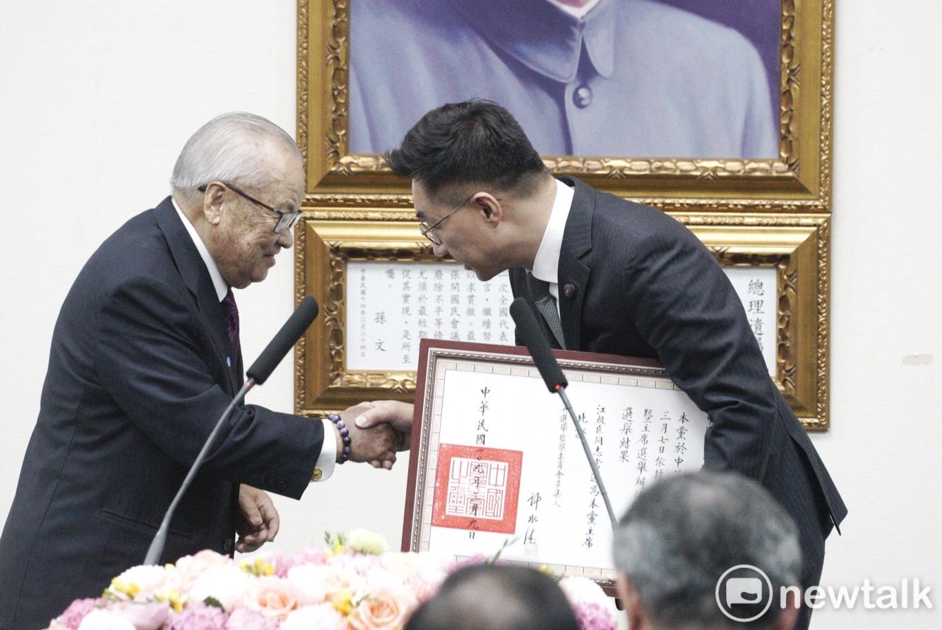 前考試院長許水德逝世 國民黨19日舉行告別式