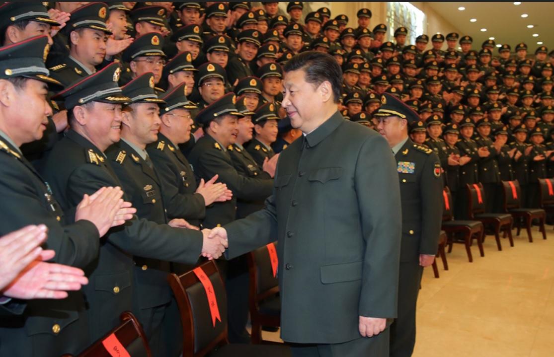 中國國家領導人習近平圖:翻攝自中國國防部官網