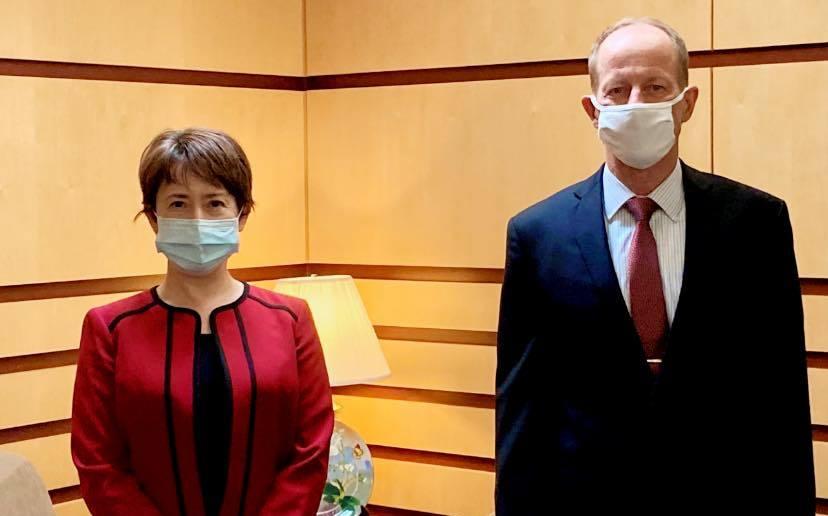 蕭美琴任駐美代表 國務院:台美關係從未如此強健   國際   新頭殼