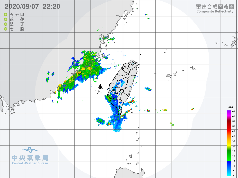 初秋報到!今迎風面降雨持續 中南部空氣品質拉警報