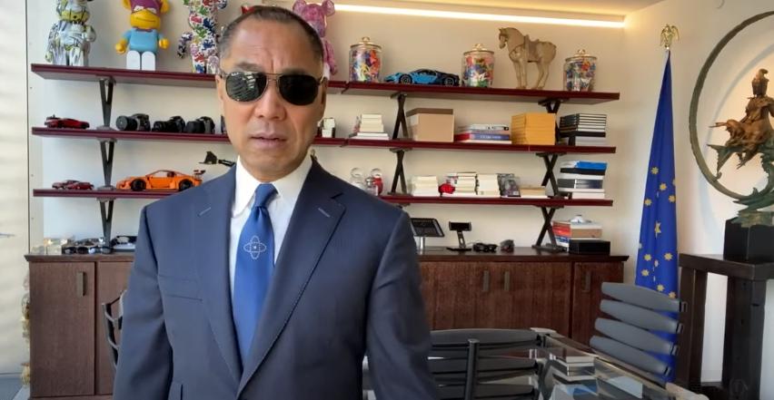 中國反共的知名富豪郭文貴。圖 : 翻攝自Youtube
