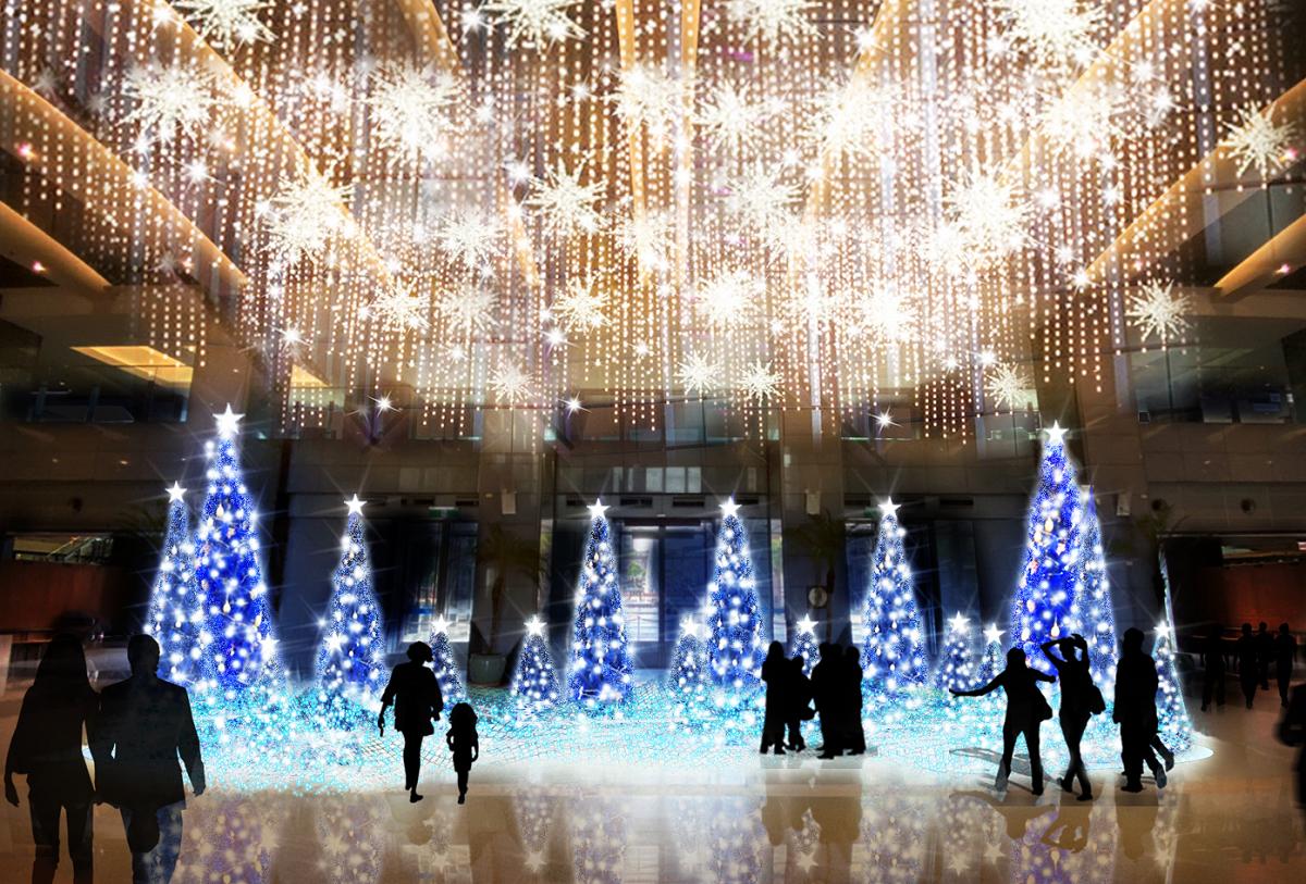 今年新北耶誕城以迪士尼為主題,燈區範圍更將延伸到府中商圈。圖:新北觀旅局/提供