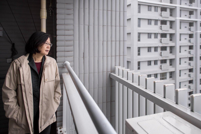 蔡英文談社宅:盼願意參與比唱衰的人多