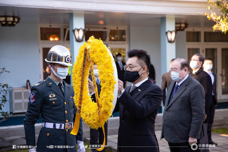 蔣經國逝世33周年  國民黨批:綠執政讓民主倒退