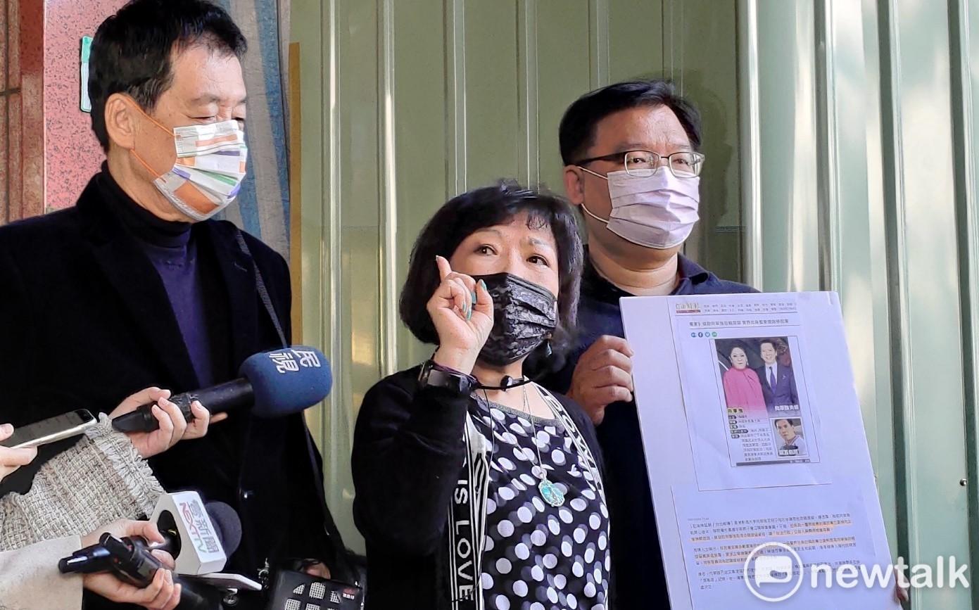 遭影射關說向華強依親居留案 葉毓蘭告《自由》索賠5,000萬 | 政治