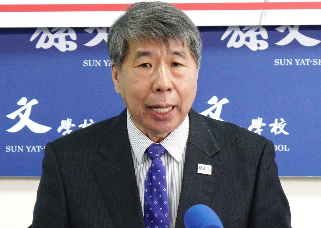 參戰國民黨主席!張亞中:黨主席選舉不是黨內天王換位子的遊戲