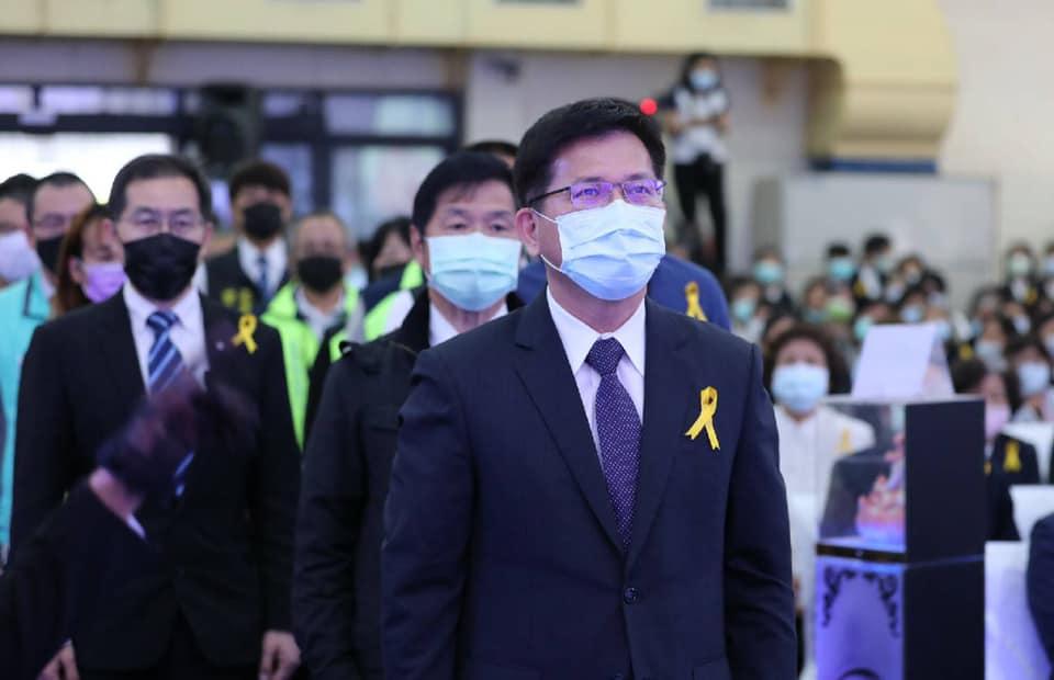 交通部長林佳龍確定4/20去職。圖:翻攝自林佳龍臉書