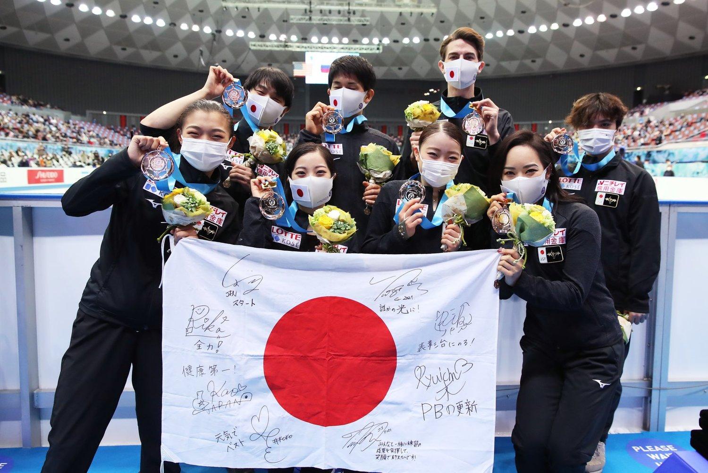 日本自民黨幹事長二階俊博表示東奧有可能辦不成所引起爭議。(示意圖)圖:翻攝自チームがんばれ!ニッポン!(Japan Olympic Team) 臉書
