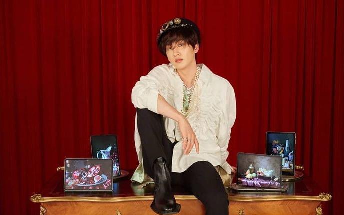 銀赫最近與武漢肺炎確診者的路線重疊。圖:翻攝自Super Junior IG