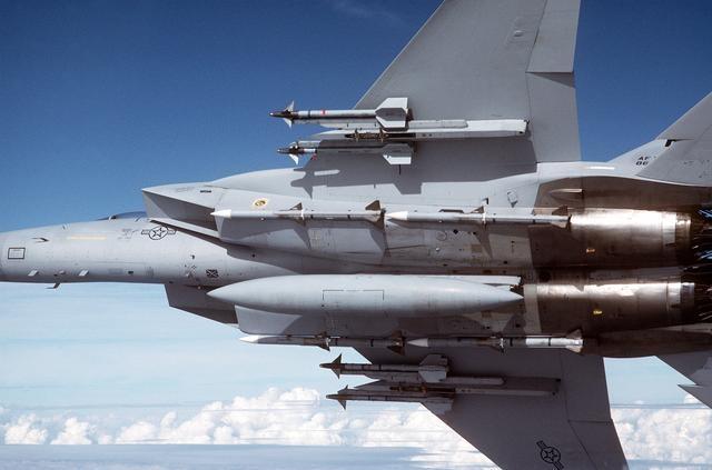 美軍F-15戰機。圖:翻攝維基百科