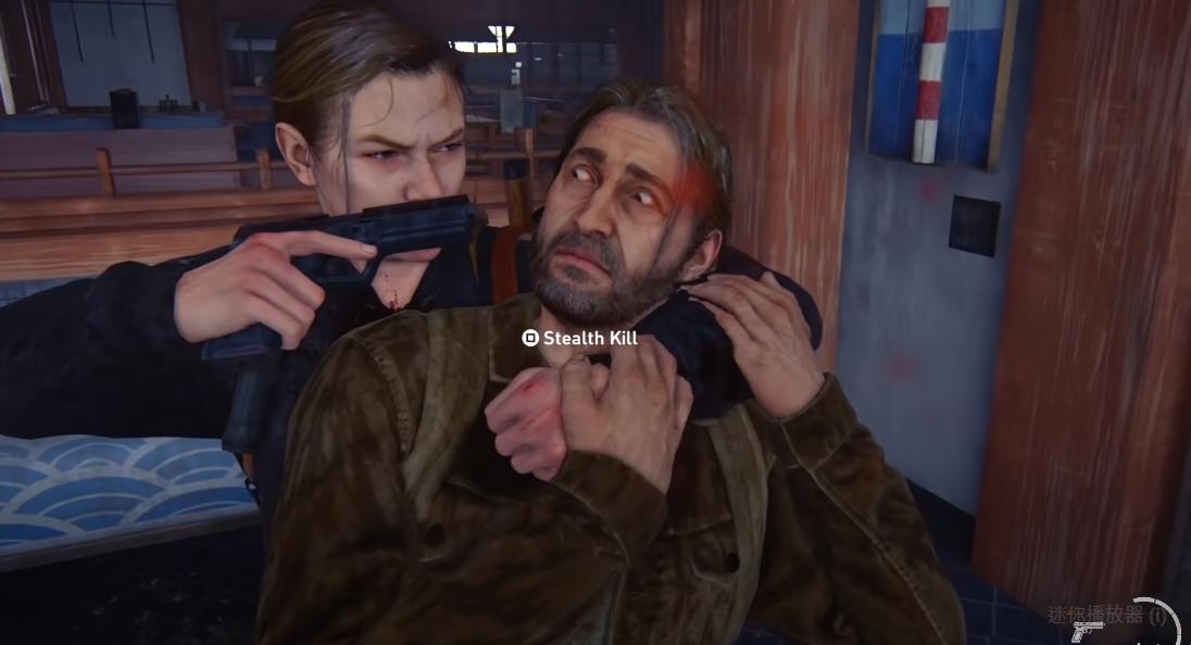 國外玩家發現能夠讓艾比趕上湯米並予以擊殺的BUG,意外釣出遊戲設計師Asher Einhorn現身說法。圖:翻攝自Speclizer YouTube